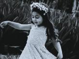 Kind mit kongenitalem melanozytärer Nävus