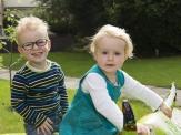 Loris mit Zwillingsschwester