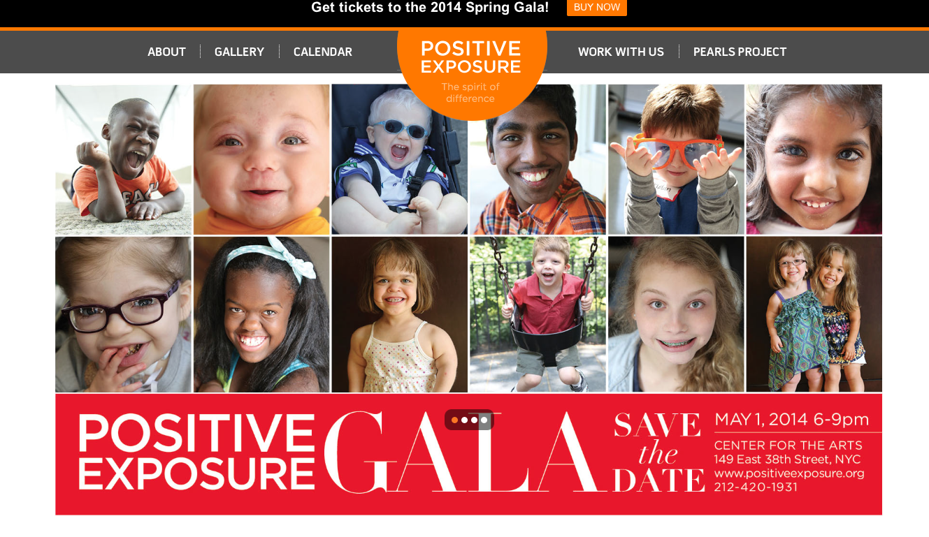 positive exposure gala